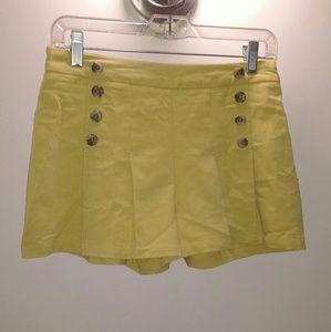 Forever 21 green shorts medium